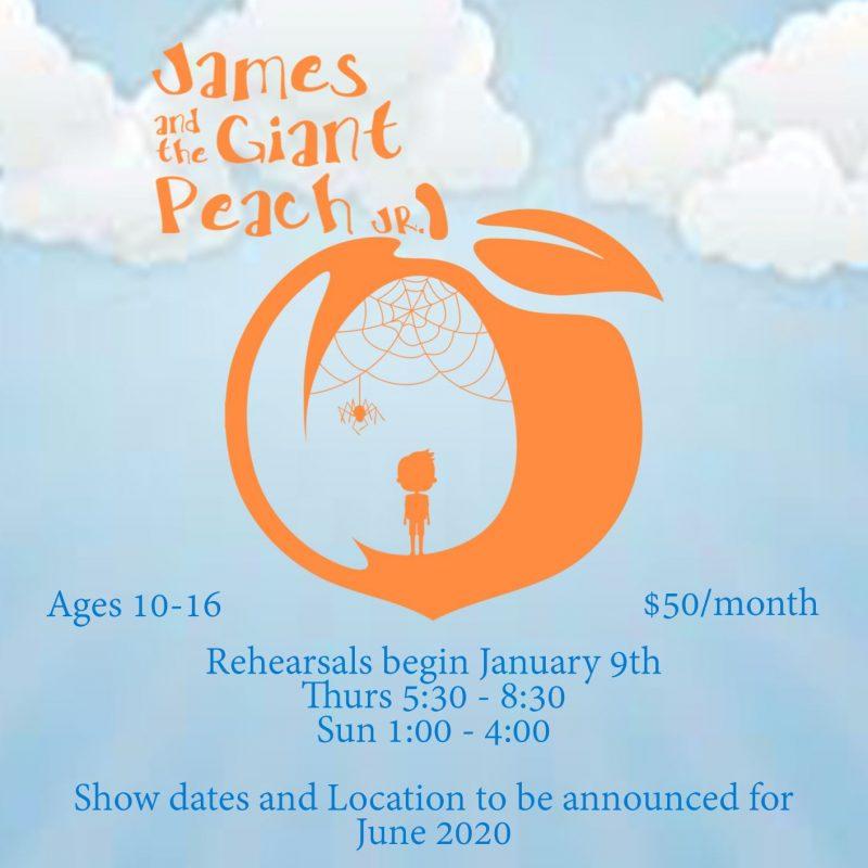 James & the Giant Peach Jr